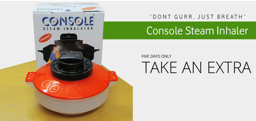Console Steam Inhaler